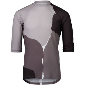 POC MTB Pure 3/4 Jersey Men, color splashes multi sylvanite grey